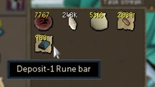 I've been making progress on my RS3 Ironman and finally gotten arou...