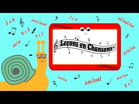 son/sont - Leçons en Chansons