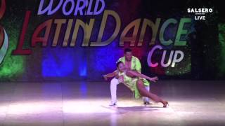 Andres & Chantal, Mexico, Salsa on 2 Man Lead, Final Round, WLDC 2015