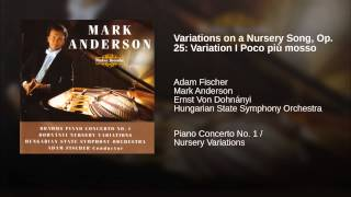 Variations on a Nursery Song, Op. 25: Variation I Poco più mosso
