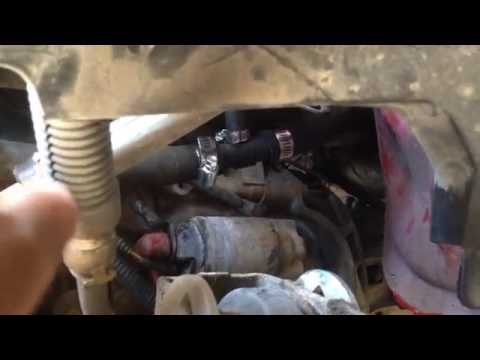 Ford Ranger 23L Heater Hose Tee replacement - YouTube
