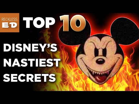 Walt Disney World Nastiest Secrets EXPOSED  TOP TEN LIST  Reckless ED