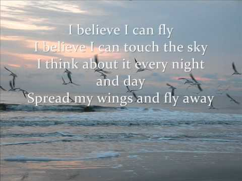 I believe I can fly lyrics Mp3