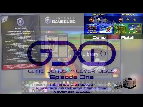 GD•CD Episode 1 - GameCube Interactive Multi-Game Demo Disc November 2003