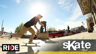 SKATE Oslo, Norway with Michael Sommer
