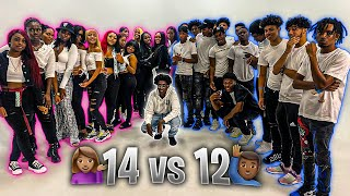 14 Women Compete for 12 Men