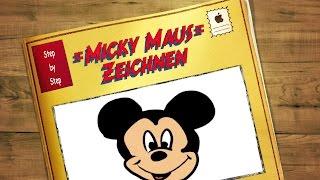Micky Maus Gesicht