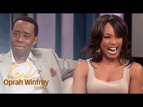 "Angela Bassett and Courtney B. Vance: ""Boring"" First Date to Marriage  The Oprah Winfrey   OWN"