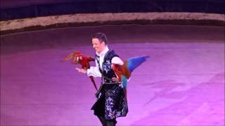 Russian Circus of Yuri Nikulin. Macaws