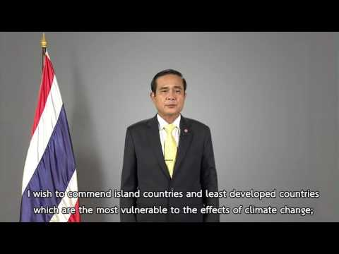 Kingdom of Thailand: Statement 2016 UN Climate Change high-level event