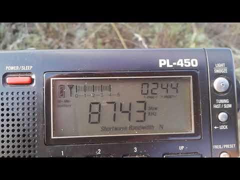 6765/8743-Bangkok Meteorological Radio