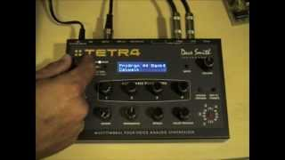 "Dave Smith Instruments ""TETRA"" Synthesizer Review Pt. 1"