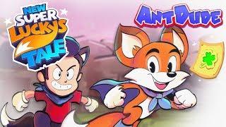 New Super Lucky's Tale | Switch Platformer Shocker - AntDude