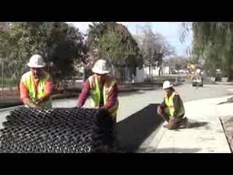 How To Install Ez Roll Grass Pavers By Nds Youtube