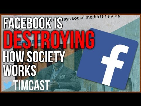 """FACEBOOK IS DESTROYING HOW SOCIETY WORKS"" - IS SOCIAL MEDIA RUINING SOCIETY?"