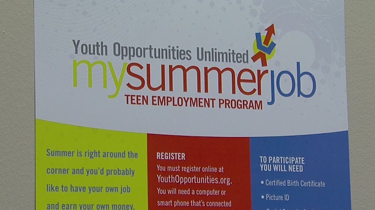 my summer job teen employment program my summer job teen employment program