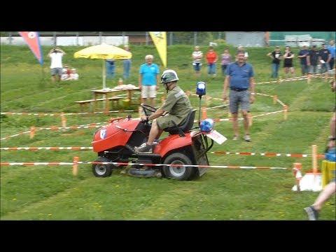 Bairisch Kölldorf - Rasentraktor-Rennen - Geschicklichkeitsfahren - 16.06.2018