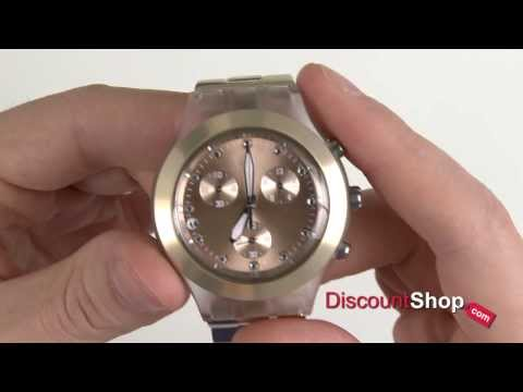 Swatch Irony Review Diaphane Svck4047ag By Chronograph kw0XO8nP