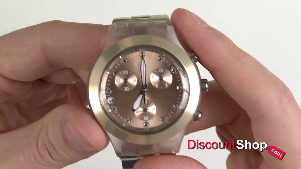 1ba52b76b34 Swatch Irony Diaphane Chronograph SVCK4047AG - review by ...