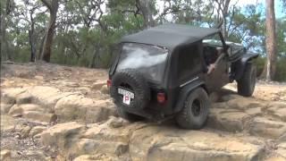 Aussie Lock vs no locker Jeep TJs