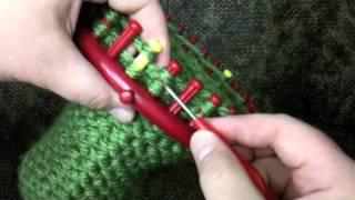 Youth Hat Loom Decrease Crown 30 or 31 Peg Round Loom or Child beanie
