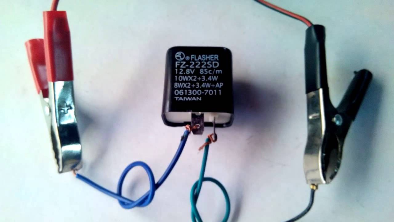 small resolution of electronic led relay flasher