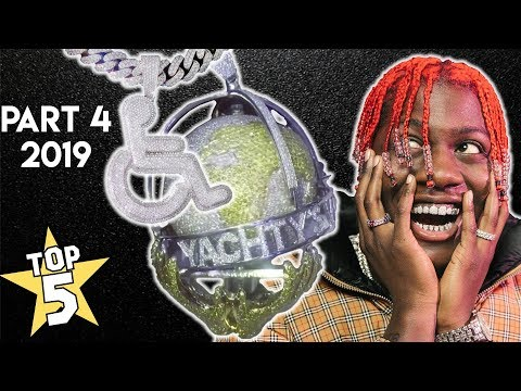 Top 5 Rapper Chains 2019 (Part 4 ) | Lil Yachty, Trippie Redd, Roddy Ricch