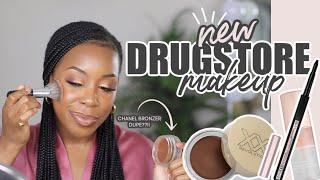 LET'S TRY SOME NEW DRUGSTORE MAKEUP! | FULL DRUGSTORE GLAM SUMMER 2021 | Andrea Renee