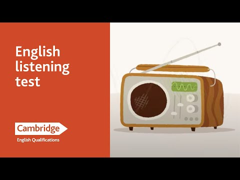 English Language Learning Tips - Listening Test