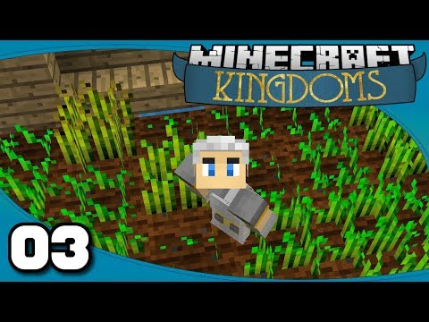 Kingdoms II - Ep. 3: Fields & Farms | Vanilla Minecraft 1.12 Single-Player Survival