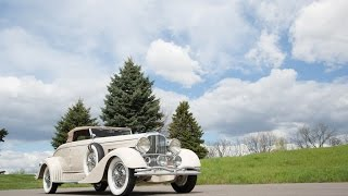 Lot S114 // 1933 Duesenberg Model J Convertible Coupe // Mecum Monterey 2016