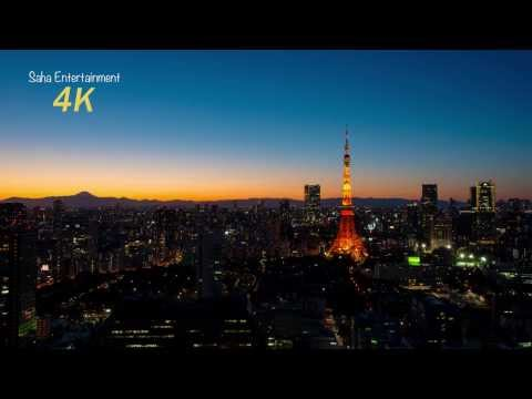 [4K Ultra HD] Tokyo World Trade Center NIGHT VIEW TIME LAPSE ワールドトレードセンター東京
