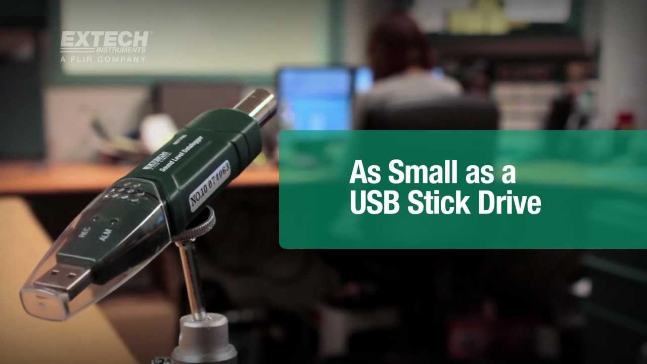 Extech Instruments 407760 USB Sound Level Datalogger
