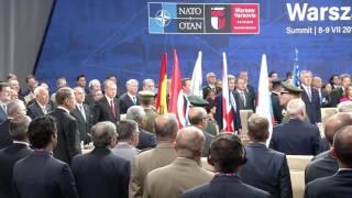 STIRIPESURSE.RO Klaus Iohannis la summitul NATO de la Varșovia