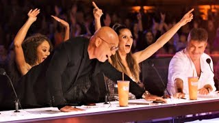 ALL 5 INCREDIBLE GOLDEN BUZZER America's Got Talent 2018 thumbnail
