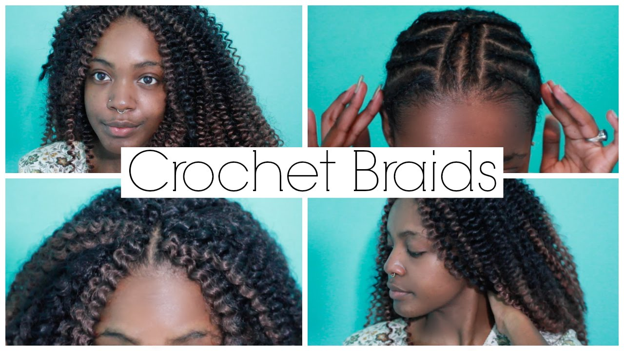 How To Do Natural Looking Crochet Braids With Invisible