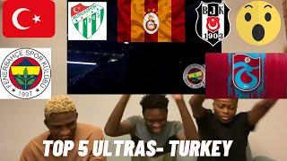 THEY ARE CRAZY ONLAR ÇILGIN TOP 5 ULTRAS TURKEY Türkçe altyazı