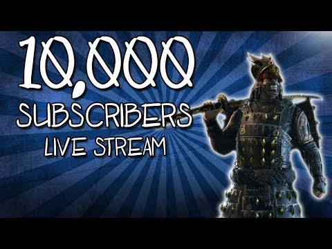 10,000 SUBSCRIBERS LIVE STREAM!!!