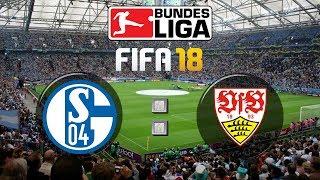 Fifa 18 bundesliga fc schalke 04 : vfb stuttgart | gameplay deutsch livestream