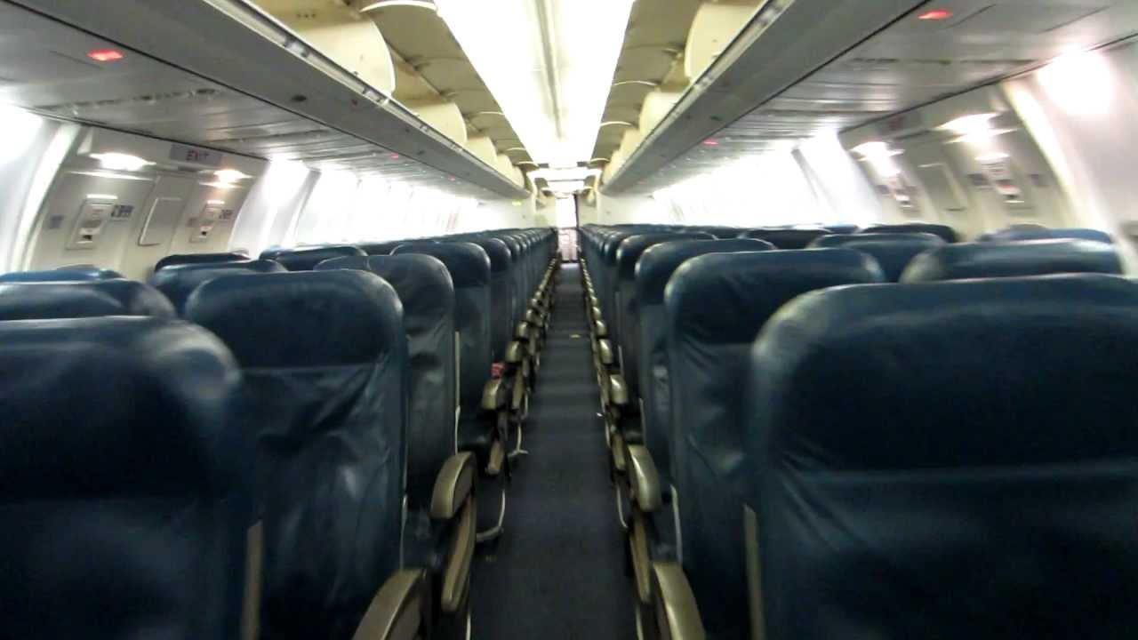 Delta 757 300 Cabin Tour Old