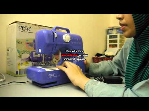 Pixie By Singer YouTube Impressive Pixie Plus Sewing Machine
