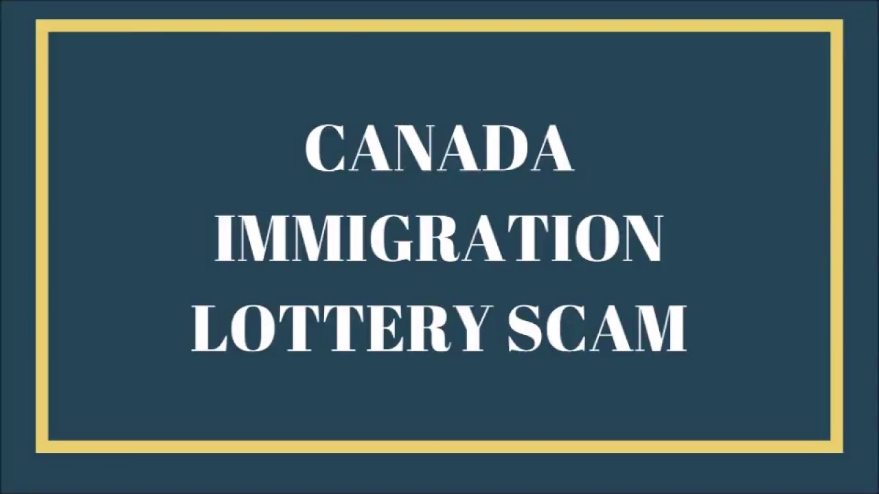 Canada Immigration Lottery