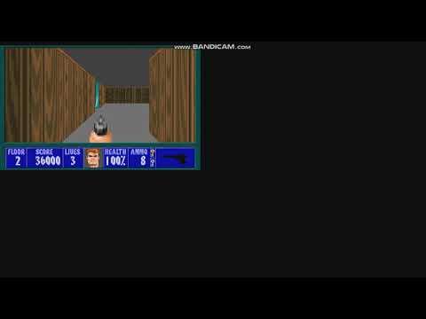E6M11 - (Wolfenstein 3D.kkr) Creepypasta Gameplay |