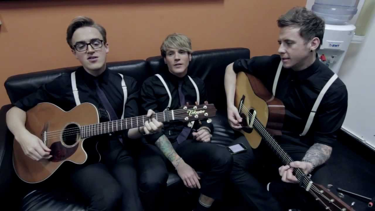 Mcfly That Girl Acoustic Youtube
