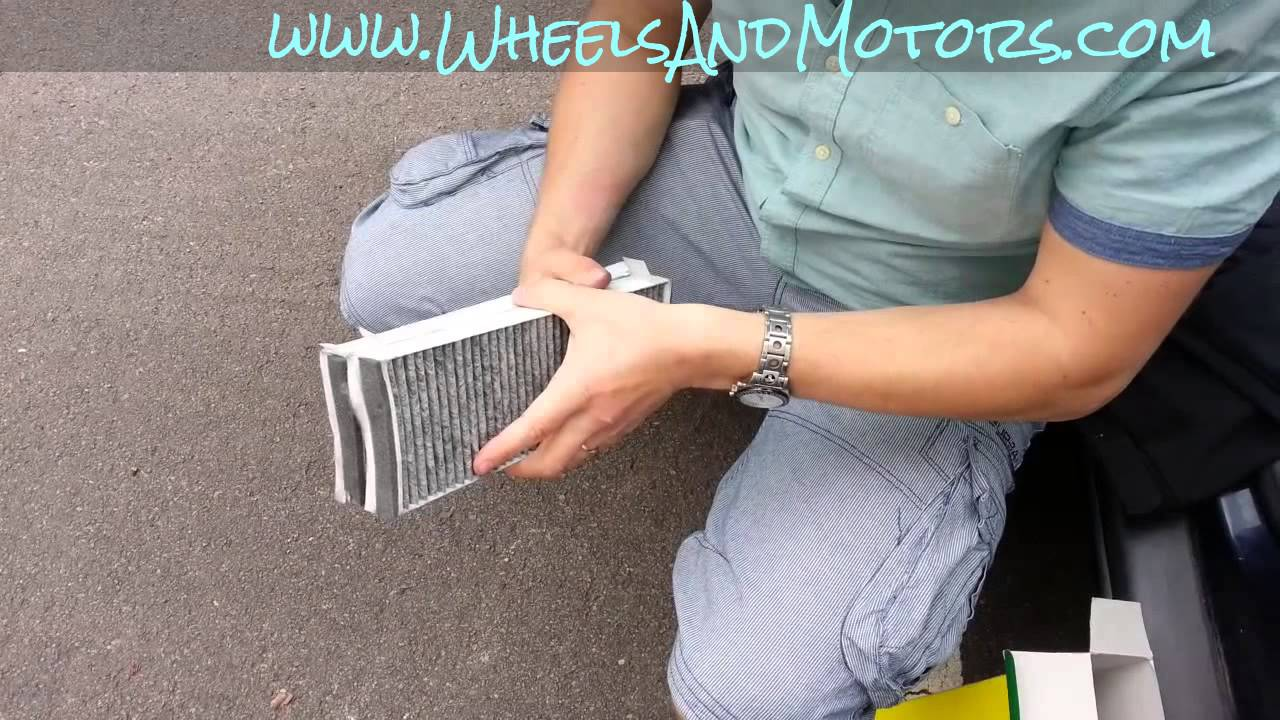 how to change air filter on 2005 audi a6