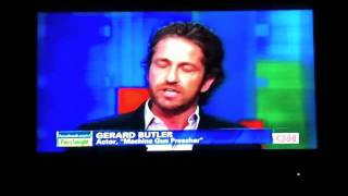 Gerard Butler Talks Women with Piers Morgan