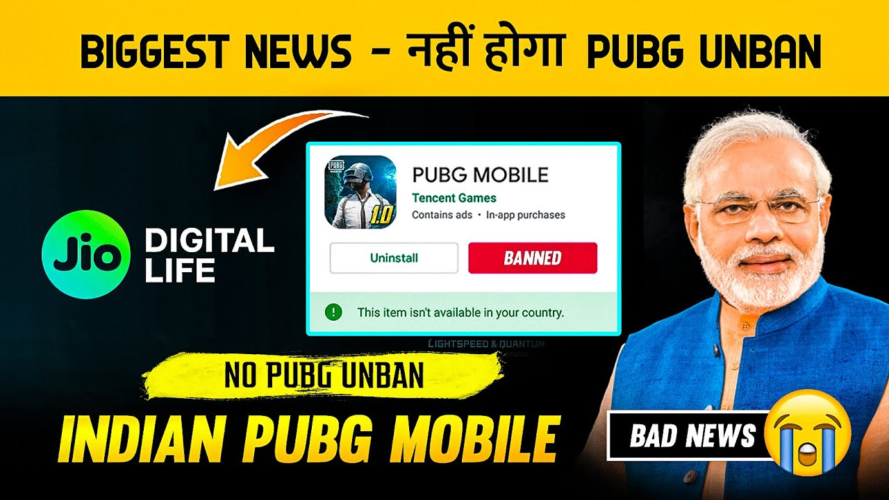 NAHI HOGA UNBANNED BAD NEWS FOR ALL PUBG LOVERS? REAL TRUTH OF EVERY NEWS ARTICLES ABOUT PUBG BAN