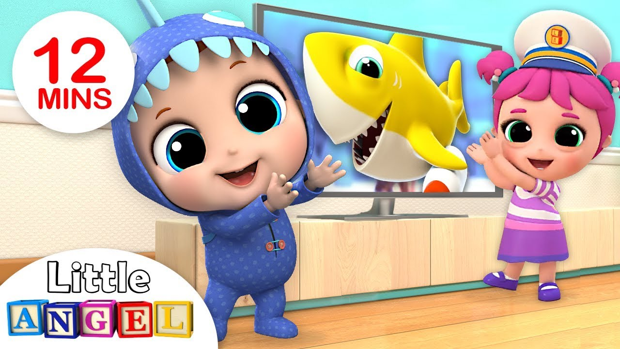 Baby Shark Dance, Doo Doo! | Baby Shark Song by Little Angel