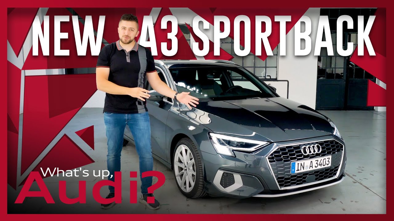 The brand-new Audi A3 Sportback | Driving Test | What's up, Audi? #35