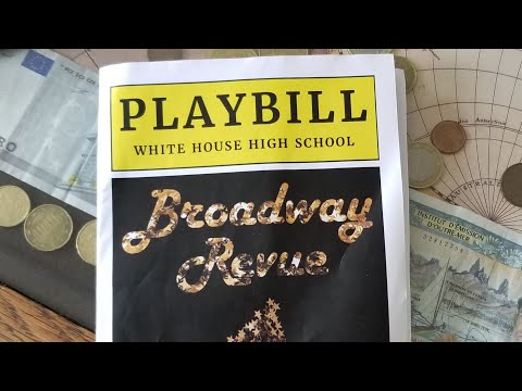 White House High School  Broadway Revue 2019